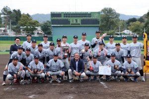 硬式野球部 札幌6大学野球 秋季リーグ戦優勝