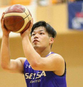 男子バスケ部伊藤選手の記事 & 優勝インタビュー