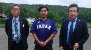 【卒業生来学】ろう野球日本代表チーム合宿